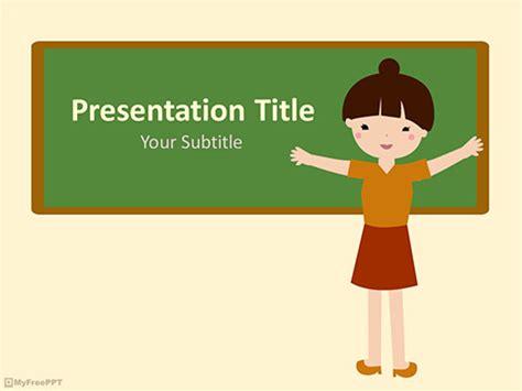 cartoon powerpoint templates myfreepptcom