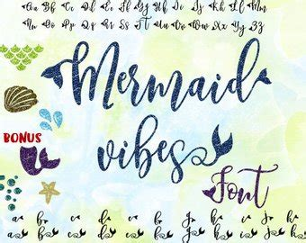 Mermaid Font  Etsy. Marathi Film Logo. Vintage Guitar Stickers. Jwellery Logo. Where Can I Order A Banner. Juvenile Arthritis Signs. Decal Sticker Maker. Selling Banners. Lipsense Banners