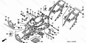 Honda Atv 1999 Oem Parts Diagram For Frame