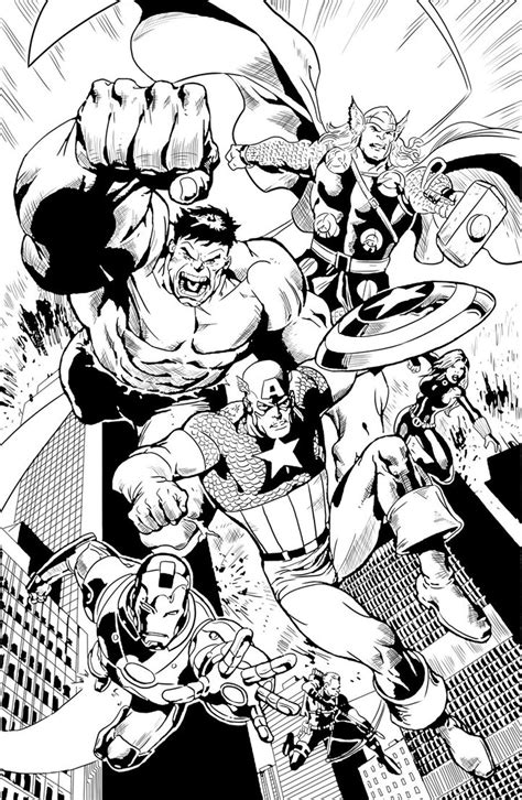 avengers     avengers kids coloring pages