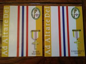 Set Of Ad Altare Dei Youth Manual And Counselor U0026 39 S Guide