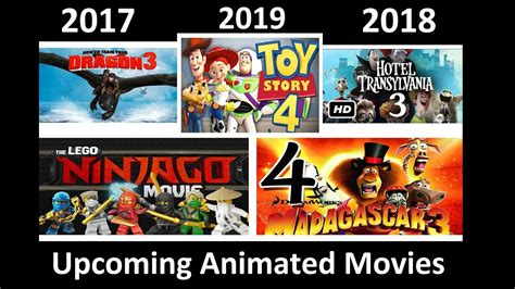 Upcoming Animated Movies (2018