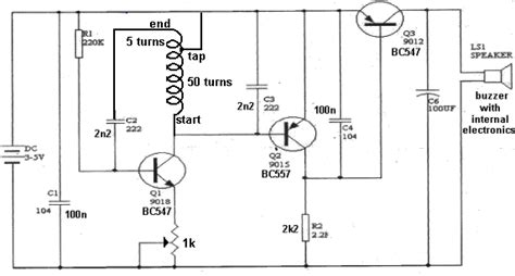 Basic Circuitry Metal Detection