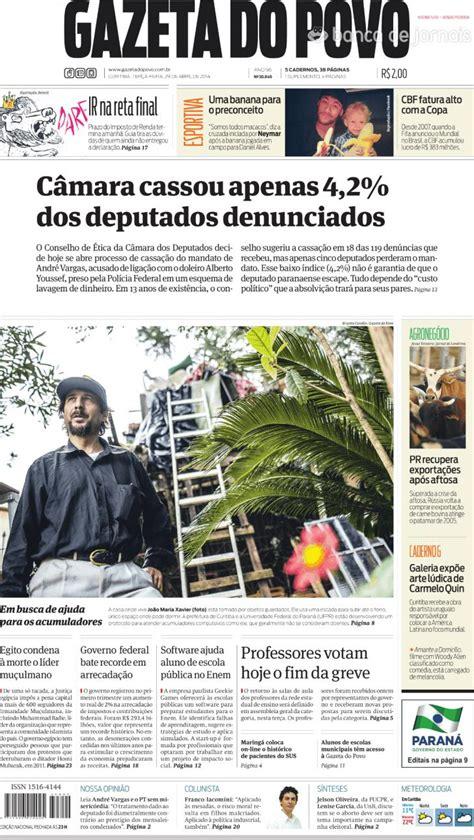 Capa - Gazeta do Povo de 2014-04-29