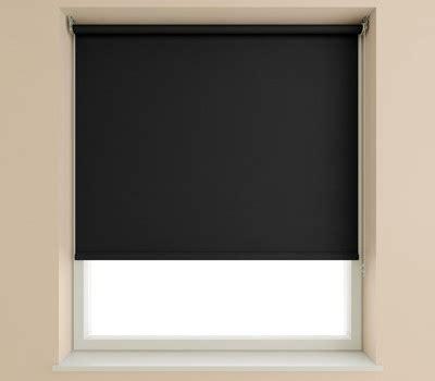 curtain rod for bay window plain black blackout roller blinds