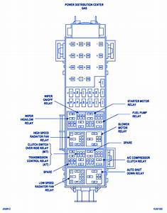 Jeep Wrangler 2011 Main Engine Fuse Box  Block Circuit Breaker Diagram