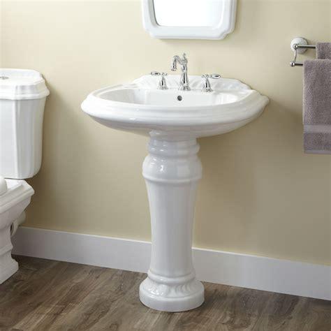 Bathroom Pedestal Sinks Ideas Julian Porcelain Pedestal Sink Pedestal Sinks Bathroom Sinks Bathroom