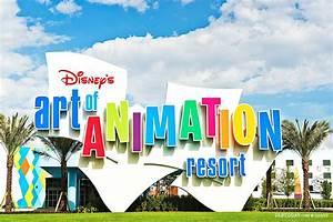 New value Disney Hotel in 'Art of Animation Resort' style ...