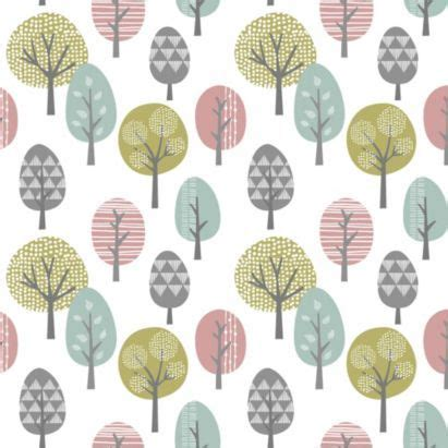 trees wallpaper  contour  bq bathroom