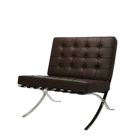 It is considered one of the most iconic chairs of the 20th mies van der rohe took inspiration for iconic barcelona chair from both an egyptian folding chair. Barcelona Chair Dark Brown > Office Chairs Canada