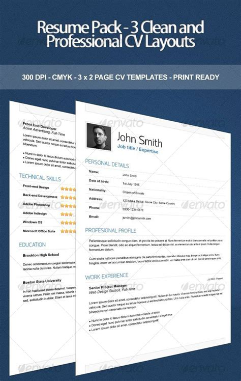 Indesign Resume by 15 Photoshop Indesign Cv Resume Templates Photoshop Idesignow