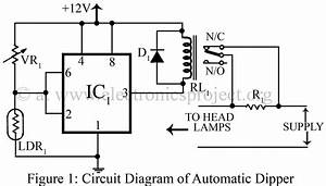 gt circuits gt automatic dipper for vehicles using ne555 With electronic suspension circuit diagram automotivecircuit circuit