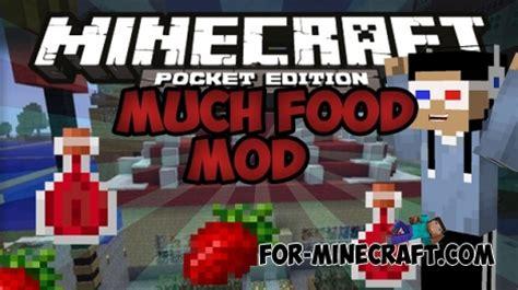 mod鑞es cuisine junk food mod for minecraft pe 0 11 1 0 11 0
