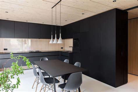 Küche In Schwarz by Schwarze K 252 Che Bilder Ideen F 252 R Dunkle K 252 Chen