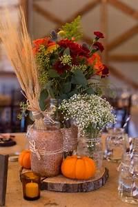 Chad and Brandi planned a beautifully DIY-ed fall wedding ...