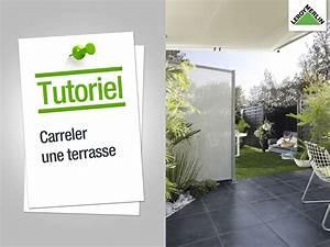 Carreler Terrasse Extérieure Sur Chape Sèche : comment carreler une terrasse carreler une terrasse elle ~ Premium-room.com Idées de Décoration