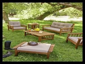 Salon De Jardin Acacia : salon de jardin acacia id es de d coration int rieure french decor ~ Teatrodelosmanantiales.com Idées de Décoration