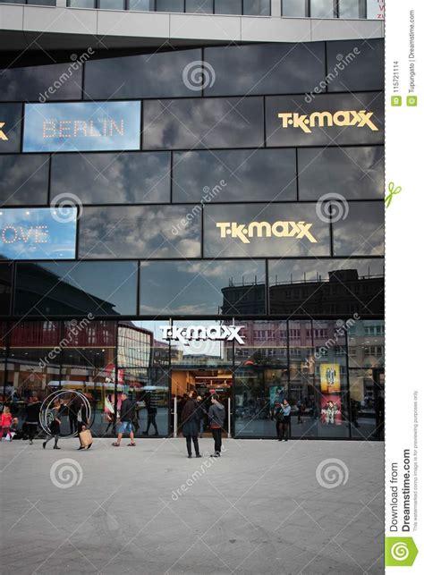 germany tk maxx editorial stock image image architecture