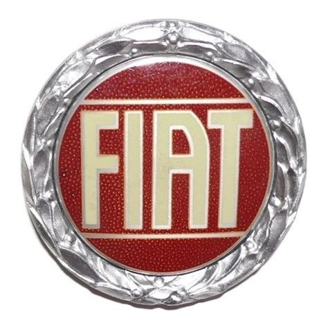 Fiat Emblem by Fiat Emblem Silber Fiat 124 Coupe Cc Riauto