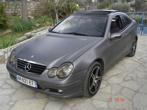 bureau plexi troc echange superbe coupé mercedes c220 cdi gris mat sur