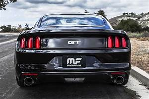 All New! MagnaFlow 2015 Ford Mustang GT Axle-Back Exhaust | STILLEN Garage