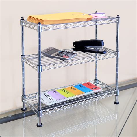 Wire Shelving Brackets System Spice Rack Part Stainless