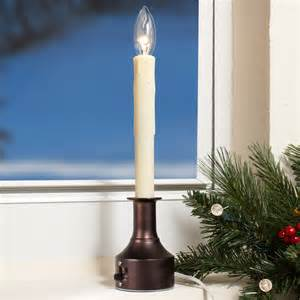 celestial lights adjustable height electric window candles
