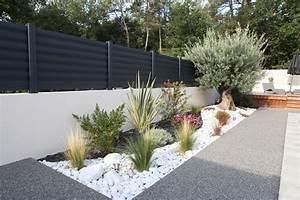 clatures aluminium modale brise vue galerie et parterre With amenager une terrasse exterieure 5 amenager parterre devant maison decor paysagiste jardin