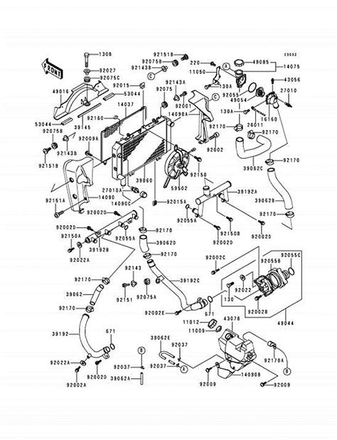 Kawasaki Zrx Wiring Diagram by Trouble Bleeding Cooling System On A Zrx1100