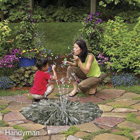 build  stone fountain