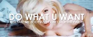 Lady Gaga My Gifs Lyrics Gifset 1000 Notes Applause Do