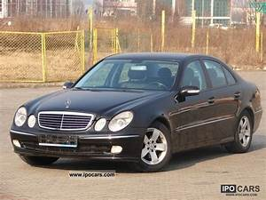 Mercedes E 270 Cdi : ficha t cnica mercedes e 270 cdi avantgarde ~ Melissatoandfro.com Idées de Décoration