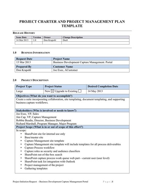 Project Management Work Package Template Scope Of Work Template Free Documents For Pdf