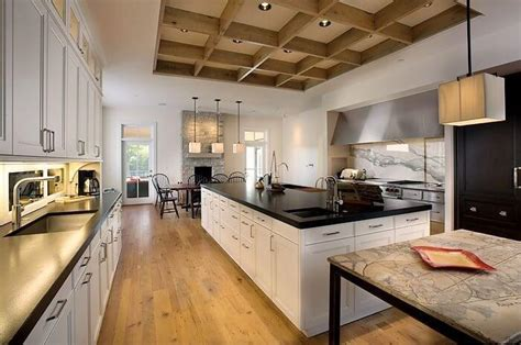 galley kitchen designs with island tips to apply galley kitchen with island homes