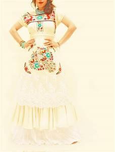 mexican embroidered wedding dress wwwimgkidcom the With embroidered mexican wedding dress