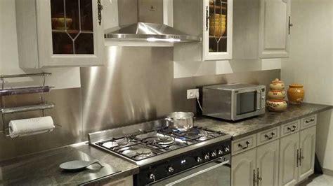credence cuisine autocollante credence autocollante pour cuisine 12 inox bross233
