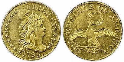 Gold Early Coins Coinage 1795 American 1834