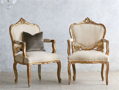 One Of A Kind Vintage Shabby Gilt Louis Xv Upholstered