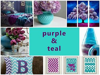 Teal Purple Combination Colour Something