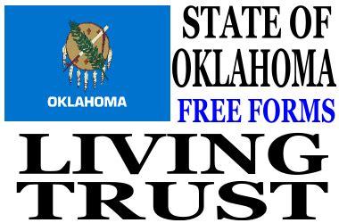oklahoma living will forms free oklahoma living trust forms download free living trust forms
