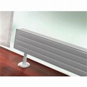 Radiateurs Plinthes Zehnder : achetez un radiateur plinthe petite hauteur cyber confort ~ Premium-room.com Idées de Décoration