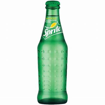 Sprite Bottle Clipart Glass Soda Mexican Transparent