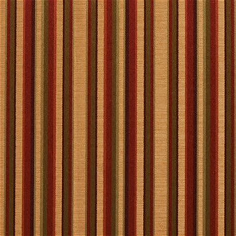 burgundy gold green shiny thin striped faux silk upholstery fabric   yard traditional