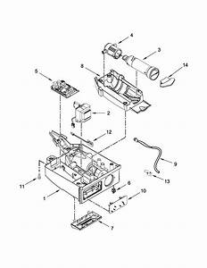 Control Panel Parts Diagram  U0026 Parts List For Model 10689592100 Kenmore