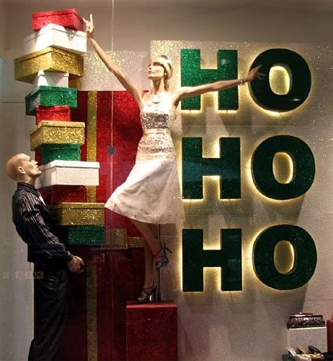 christmas decoration visual 7 quot think outside the box quot strategies awesome retail window displays