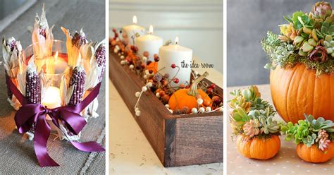 diy fall decorations ideas 27 best diy fall centerpiece ideas and decorations for 2018