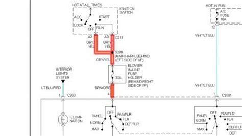 Mercury Ac Wiring Diagram by 1997 Mercury Wiring Diagram Wiring Data