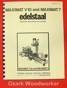 Emcoedelstaal Maximat V10 7 Lathe Mill Operational