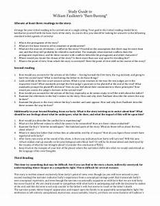 Barn Burning Essay Sample Of A Good Research Proposal Barn Burning  Barn Burning Analysis Essay Example Science Vs Religion Essay also Buy Persuasive Speech On Line  Narrative Essay Thesis
