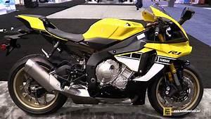Yamaha R1 2016 : 2016 yamaha r1 60th anniversary edition walkaround 2015 aimexpo orlando youtube ~ Medecine-chirurgie-esthetiques.com Avis de Voitures